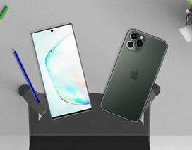 """Galaxy Note10+ và iPhone 11 Pro Max đọ tốc độ: """"Bom tấn"""" nào chiến thắng?"""