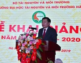 Trường Đại học Tài nguyên và Môi trường Hà Nội khai giảng năm học mới 2019 - 2020
