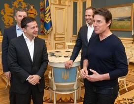 Tổng thống Ukraine mời ngôi sao điện ảnh Mỹ tới thăm