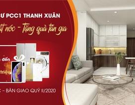 Tưng bừng cất nóc – tặng quà tân gia tại PCC1 Thanh Xuân