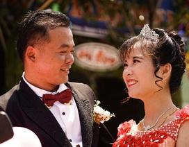 Nghẹn ngào đám cưới nơi mái ấm tình thương