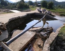 Hàng chục điểm sạt lở cầu, đường cần sửa chữa sau mưa lũ
