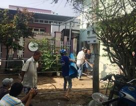 Ba người bị điện giật tử vong khi đường ngập