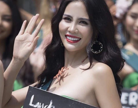 Đại diện Việt Nam gây chú ý tại cuộc thi Hoa hậu Trái đất 2019
