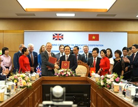 Vương quốc Anh sẽ hỗ trợ Việt Nam về công nghệ giáo dục, mầm non, đại học