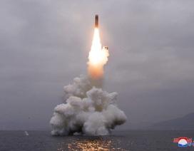 Triều Tiên tuyên bố thử thành công tên lửa đạn đạo phóng từ tàu ngầm loại mới
