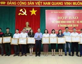 Phóng viên Dân trí nhận bằng khen của Chủ tịch UBND tỉnh Thanh Hoá