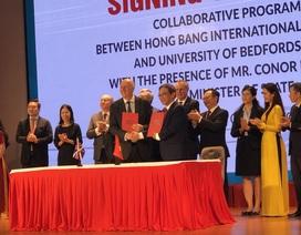 Nhiều trường ĐH Việt Nam ký kết hợp tác với giáo dục Anh quốc