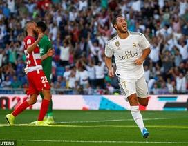 Hazard lập công, Real Madrid tiếp tục dẫn đầu La Liga