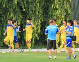 Đội tuyển Việt Nam ghép đội hình dù vắng Quang Hải, Văn Hậu