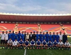 Cầu thủ Hà Nội về nước, chưa trình diện HLV Park Hang Seo