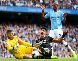 Man City 0-2 Wolves: Cú đúp của Traore