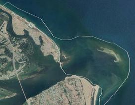 Diễn biến mới ở đảo nổi giữa biển Hội An