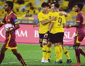 Malaysia chốt danh sách 23 cầu thủ để đấu đội tuyển Việt Nam