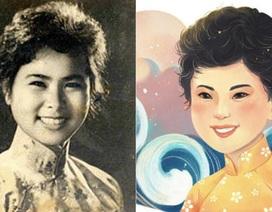 Xuân Quỳnh là nữ sĩ đầu tiên của Việt Nam được Google vinh danh