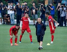 HLV Park Hang Seo bất ngờ đổi sân, đóng kín buổi tập của đội tuyển Việt Nam