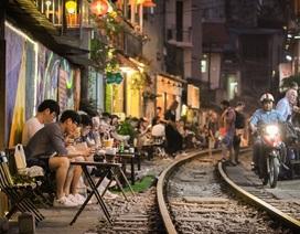 Cần giải tán tụ điểm cà phê phố đường sắt thành phố Hà Nội