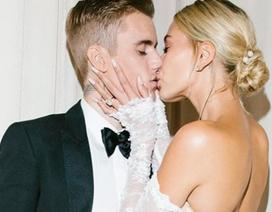 Vợ Justin Bieber hé lộ thêm ảnh cưới