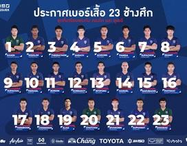 Dangda nhận lại chiếc áo số 10 tuyển Thái Lan từ Chanathip