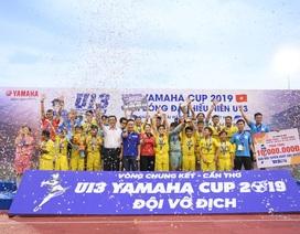 TP Cần Thơ: Chung kết Giải bóng đá thiếu niên U13 Yamaha Cup 2019 kịch tính và hấp dẫn