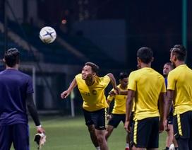Malaysia rèn miếng đánh chuẩn bị cho trận đấu với tuyển Việt Nam