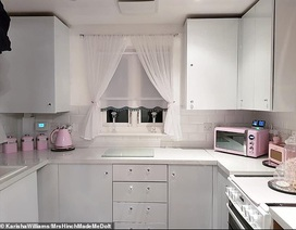 """""""Hô biến"""" căn bếp lỗi thời thành nơi được định giá 200 triệu đồng chỉ nhờ cuộn băng keo"""