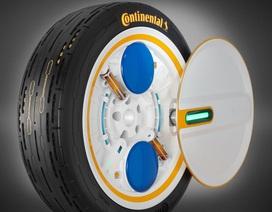 Lốp tự bơm khi xe đang chạy - Tại sao không?