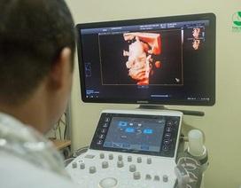 Giảm 30% siêu âm thai 5D - Phát hiện sớm và chính xác dị tật thai nhi