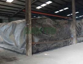 Cận cảnh kho chứa hơn 2.500 tấn phế thải từ vụ cháy Công ty Rạng Đông