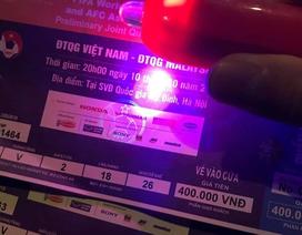"""""""Săn"""" vé chợ đen sát trận Việt Nam - Malaysia: Nơm nớp lo mua phải vé giả"""
