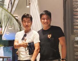 Minh Tiệp kết nghĩa anh em với diễn viên Hàn Quốc Kim Sang Joong