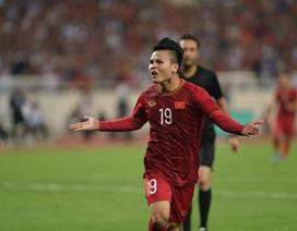 Quang Hải nổi bật trong chiến thắng của tuyển Việt Nam trước Malaysia
