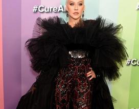 Christina Aguilera lại tăng cân