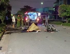 Hai xe máy tông nhau trực diện, 2 người chết, 1 người nguy kịch