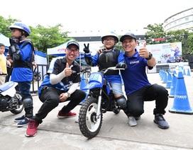 Thú vị trải nghiệm học lái xe mô tô dành cho trẻ em