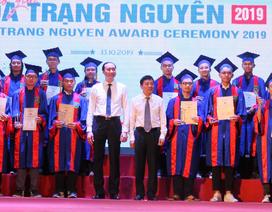 176 học sinh phía Bắc được trao giải Hoa Trạng Nguyên 2019