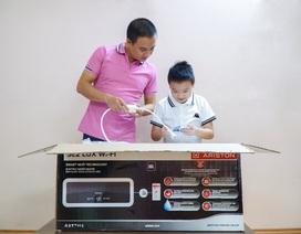 Xu hướng mới của thiết bị gia dụng: Bình nước nóng tích hợp wi-fi an toàn và tiện lợi