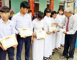 Hội Khuyến học Quảng Nam thông báo xét cấp học bổng cho sinh viên nghèo học giỏi
