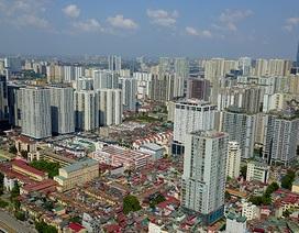 """Chính phủ thừa nhận cao ốc vẫn """"mọc"""" trong nội đô và nền đất nhà máy di dời"""