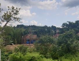 Cán bộ huyện dựng nhà trái phép, dù bị lập biên bản nhiều lần