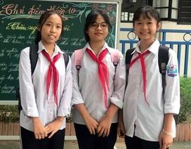 Ba học sinh nhặt được 50 triệu đồng, nhờ công an tìm người đánh rơi