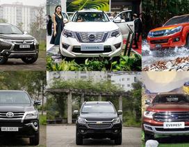 Xe nào bán nhiều nhất phân khúc SUV 7 chỗ tháng 2/2020