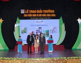 """Công ty Botania lần thứ 4 nhận giải thưởng """"Sản phẩm vàng vì sức khỏe cộng đồng"""""""
