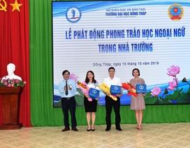 Bộ GD-ĐT kêu gọi học sinh, sinh viên học ngoại ngữ