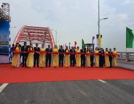 Thủ tướng dự lễ thông xe cây cầu hơn 2.000 tỷ đồng ở Hải Phòng