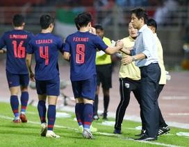 Những khoảnh khắc gây thất vọng của UAE trên sân Thái Lan