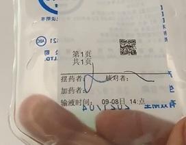 Trẻ tử vong do y tá Trung Quốc cho uống nhầm thuốc