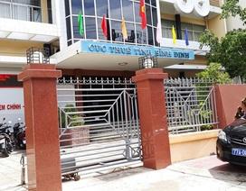 Cục trưởng Cục Thuế tỉnh Bình Định bị giáng chức