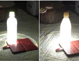 """Đối phó siêu bão, người Nhật phát minh ra """"bóng đèn"""" không cần điện, chỉ cần smartphone"""