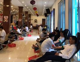 Quảng Bình:  Hơn 600 cán bộ, đoàn viên thanh niên tham gia hiến máu cứu người